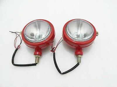 New Massey Ferguson 135 Headlight Red With Parking Bulb Slot