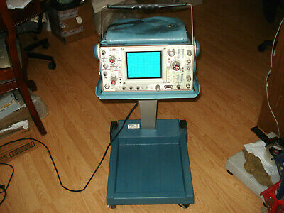Tektronix 465 Analog Oscilloscope W Tektronix K212 Portable Instrument Cart