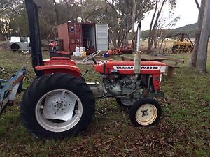 Yanmar YM2000 20 Horse Power Diesel Tractor & Rotary Hoe Stanthorpe Southern Downs Preview
