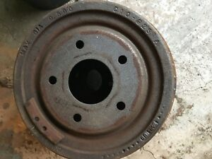 GM brake drums