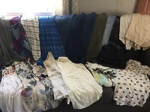 Full bag of plus size clothes