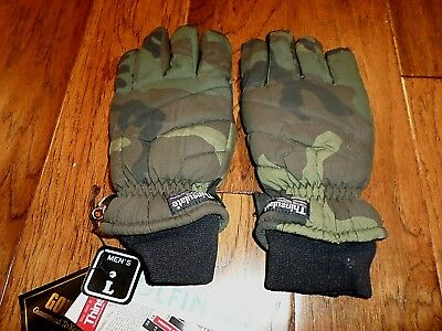 WOODLAND CAMOUFLAGE GORE-TEX THINSULATED WINTER GLOVES WATER (Gore Tex Thinsulate Gloves)