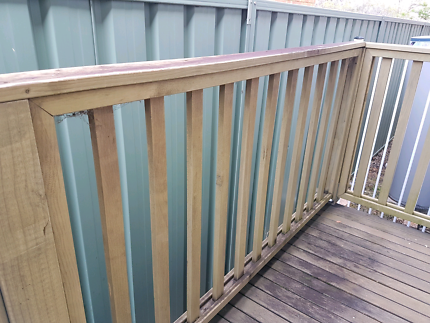 Free - Treated Pine Hand Rail Balustrade fence