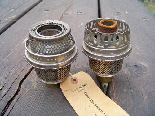 Lot of 2 Aladdin Lamp Burners for Model 11 and 9