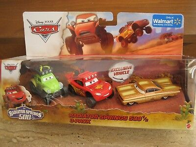 Disney PIXAR Cars The RADIATOR SPRINGS 500 1//2 STANLEY DAYS RAMONE diecast 3PACK