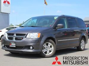 2017 Dodge Grand Caravan Crew FULL STO & GO | REAR CLIMATE CO...