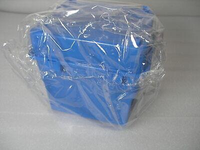 Entegris Silicon Wafer Storage Box 150 Mm 6 E90-101-0603 Blue Snap Latch