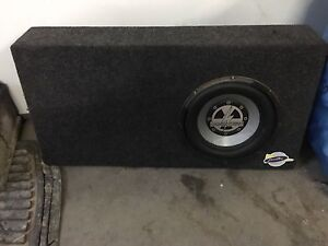 8inch Subwoofer  and Amplifier in box