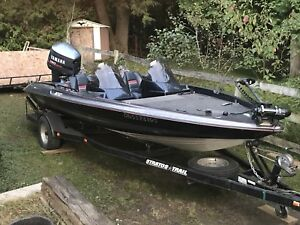 1997 stratos 282 bass boat
