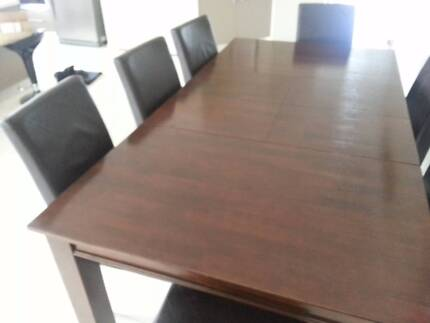 Dining Table, Buffet Hutch, TV Cabinet Set Ormeau Gold Coast North Preview