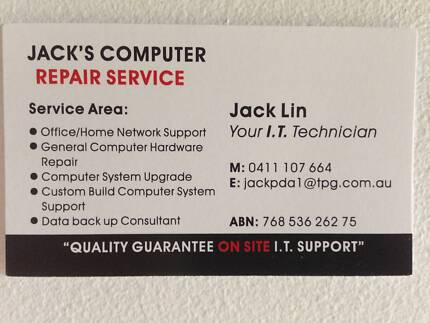 Jack's Computer Repair Service Calamvale Brisbane South West Preview