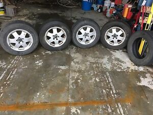 Volvo Xc 16 inch rims and tires
