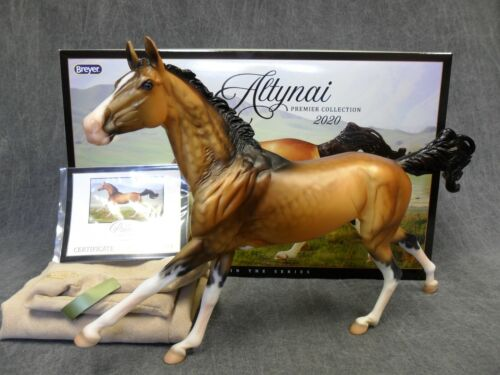 Breyer * Altynai * Premier Club Akhal-Teke Traditional Model Horse