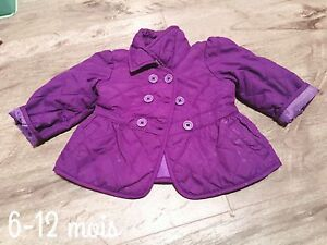 6-12 month baby girl coat
