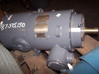 Rebuilt Ge 15 Hp Dc Electric Hazardous Loc Motor Cd288at 550 Vdc 1750 Rpm