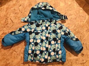 Toddler Girls 3-in-1 Winters Jacket (size 2T)
