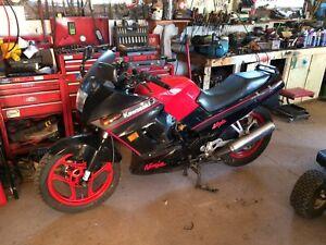 1989 Kawasaki Ninja 250r