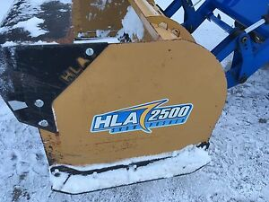 HLA 2500 snow pusher
