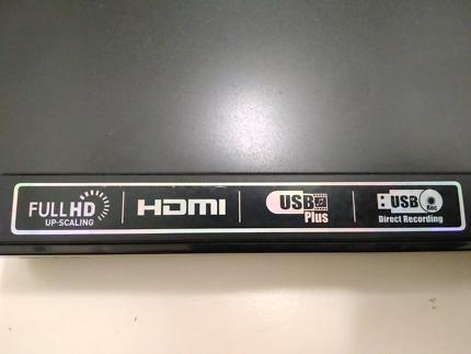 DVD CD Player USB Recorder Full HD HDMI DivX Optical
