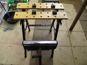 Work Bench with Adjustable Jaws plus Adjustable height Stand NEW! Adelaide CBD Adelaide City Preview