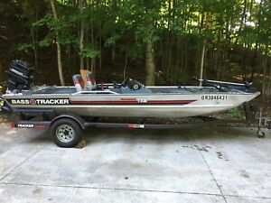 Bass Tracker Boat