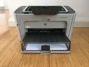 HP LaserJet P1505 Printer and Ink Cartridges Ascot Belmont Area Preview