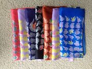 Vintage Pocket Squares Lot