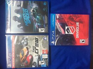 PS4 Racing games bundle