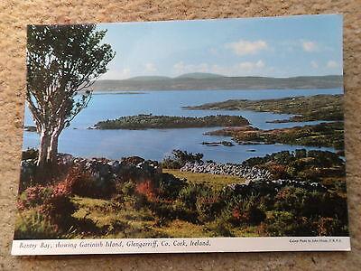 POSTCARD.BANTRY BAY,SHOWING GARINISH ISLAND GLENGARRIFF Co.CORK IRELAND.