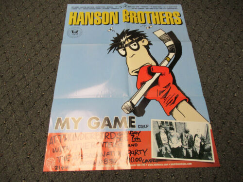 VINTAGE HANSON BROTHERS (BAND) CONCERT POSTER