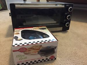 Toaster Oven & Mini-Grill Combo