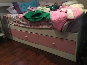 Captain's Bed Frame and Headboard