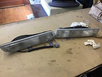 peugeot 504 x 2 pair front side lamp flasher indicator seima 630135 630136 10460