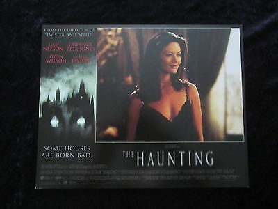 THE HAUNTING lobby cards - LIAM NEESON, CATHERINE ZETA JONES, OWEN WILSON