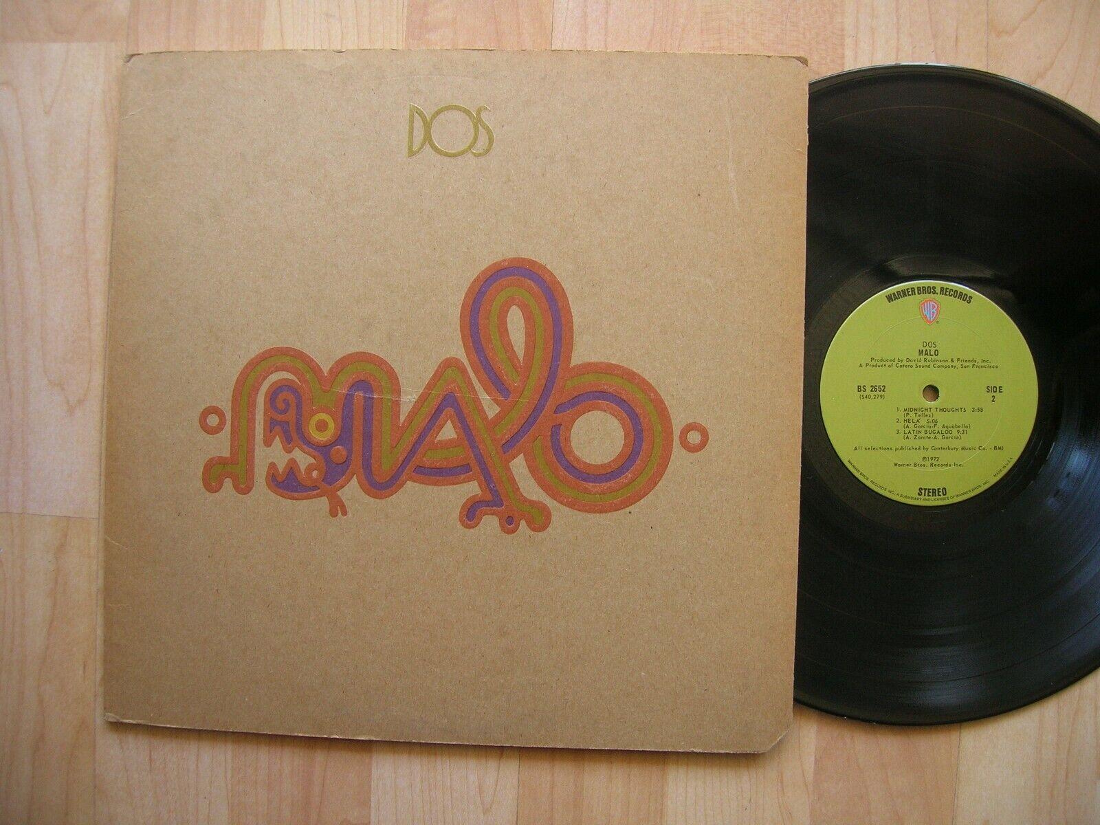 MALO Dos Warner BS 2652 Orig 1972 1st Latin Funk Psych Santana NM  - $6.11