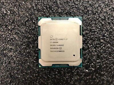 Intel i7-6800K 3.4 GHz Six-Core LGA 2011 Processor 15M Cache up to 3.60 GHz