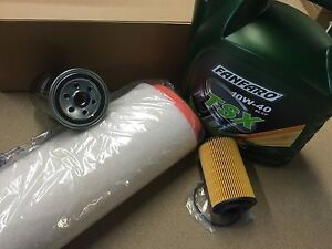 ROVER 75 2.0 CDT CDTi DIESEL SERVICE KIT OIL AIR FUEL FILTER + 5 LITRES OF OIL!