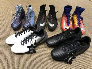 New kids soccer shoes/ high end cleats