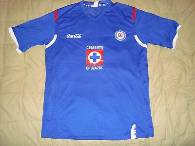 fcb56fe5c13 Cruz Azul Men's Replica Soccer Jersey Sz. XL Deportivo Cruz Azul Futbol  Mexico