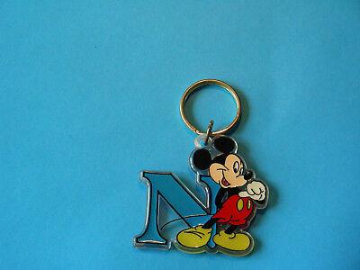Schlüsselanhänger Disney (Mickey+ Buchstabe N) (Disney Mickey Schlüsselanhänger)