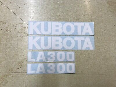 Kubota La300 Loader Decals