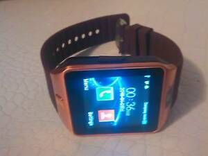 COFFEE COLOUR SMART WATCH DZ09 4GB WORKS WELL Maitland Maitland Area Preview