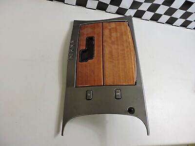 2004-09 Cadillac XLR Middle Front Floor Console Assembly Woodgrain Trim OEM 05