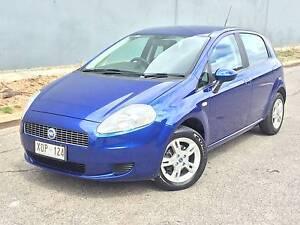 2007 Fiat Punto 5 DOOR HARCH 84xxx KMS $4999 ! Pooraka Salisbury Area Preview