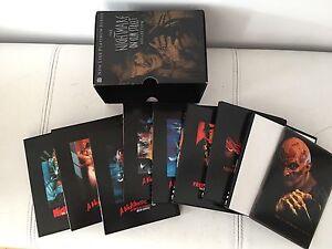 Collection complète de Nightmare on Elm Street + lunettes 3d
