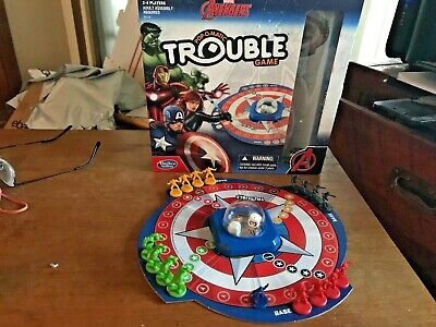 Marvel Avengers Pop Up Game Ludo Fun Party Family Board Game Kids Children Gift