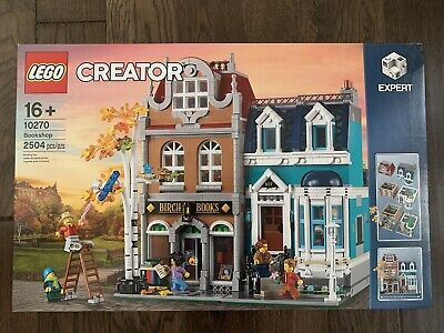 BRAND NEW Lego Creator Expert Bookshop 10270 IN HAND SHIPS FAST SAME DAY
