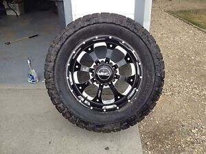 """BMF rim with Mickey Thompson tire 20"""""""