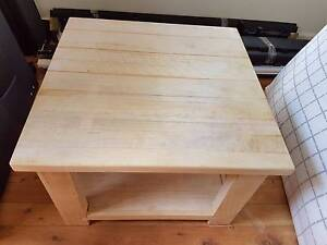 Coffee table wooden Denistone Ryde Area Preview