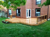 DECK & FENCE BUILDERS - FORTRESS CONTACTING